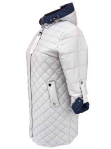 "Демисезонная куртка ""Эмми"" жемчуг"