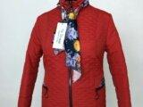 Куртка весенняя женская » Мила» цвет красный