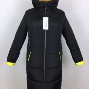 """Женское зимнее пальто """"Оливия"""" черный"""