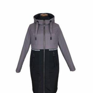 """Демисезонная женская куртка """"Парка"""" мокка"""